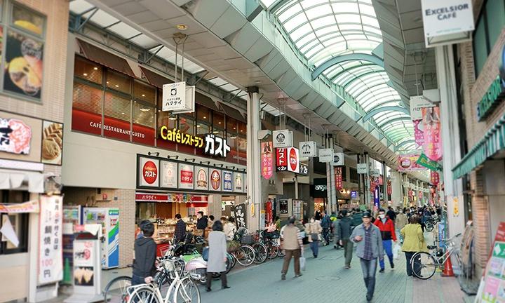 注文住宅の施工範囲:板橋・大山商店街