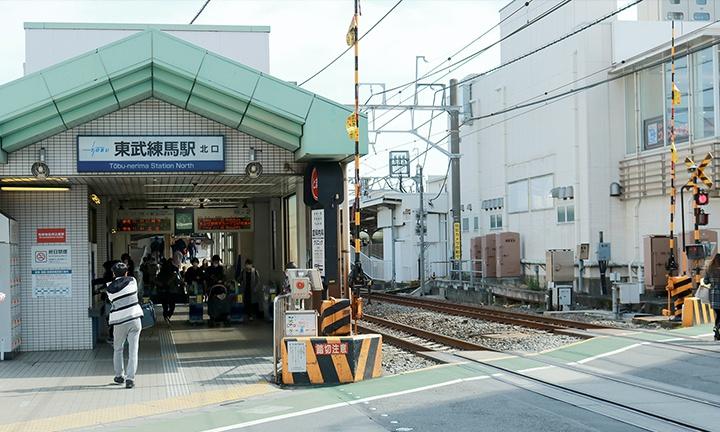 注文住宅の施工範囲:東武練馬駅