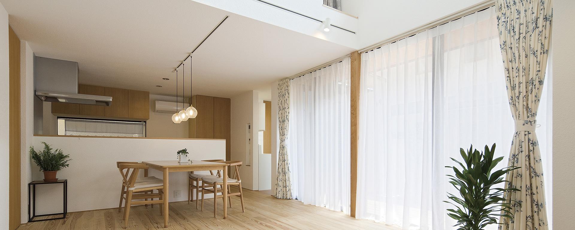 練馬・板橋の注文住宅:リビング④