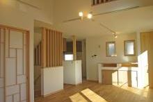家事導線のスムーズな二世帯住宅