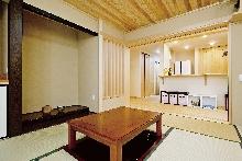 堀座卓のあるこだわり和室の家