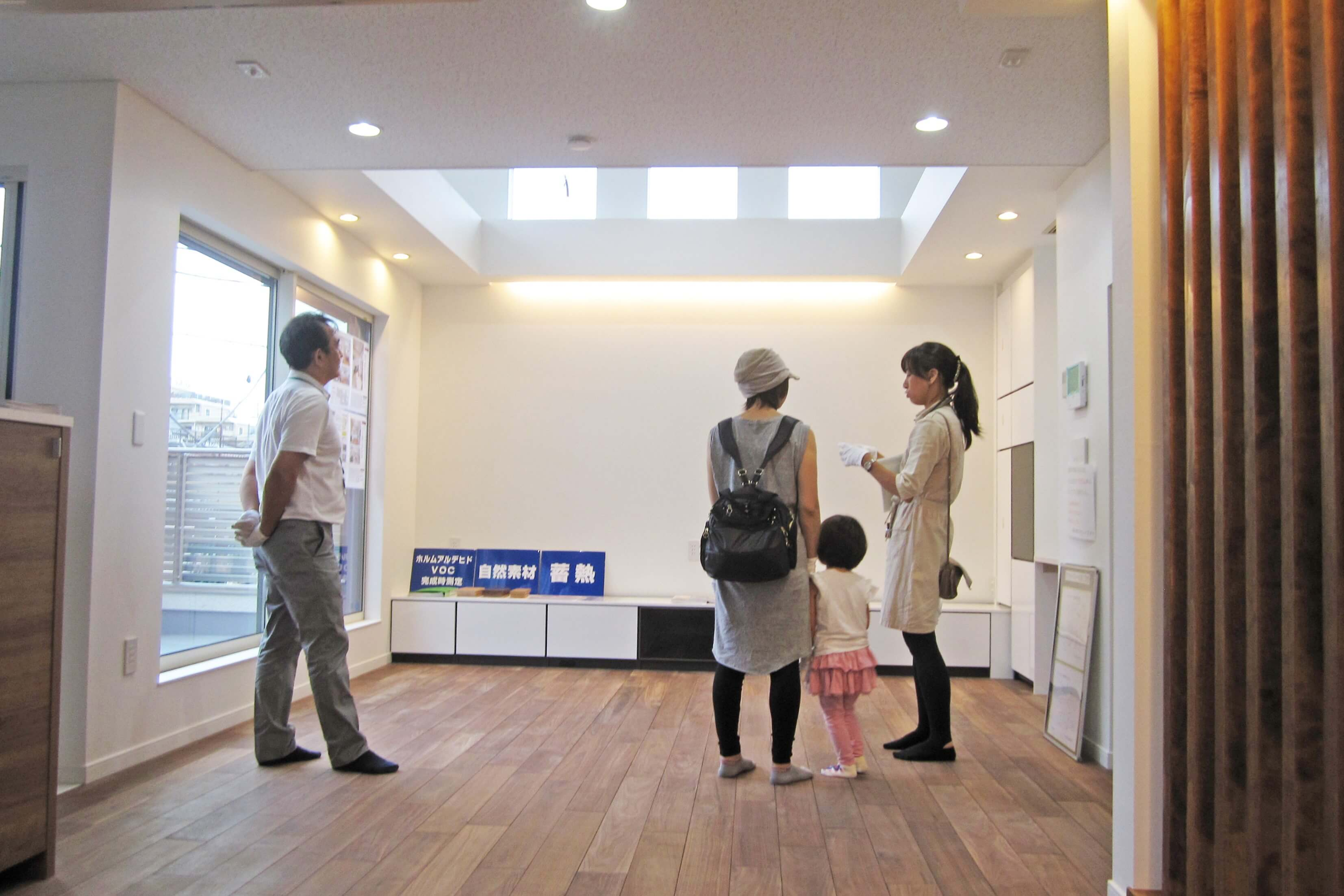 板橋区蓮根の注文住宅完成現場見学会イメージ02