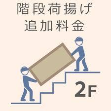家具を運ぶルート