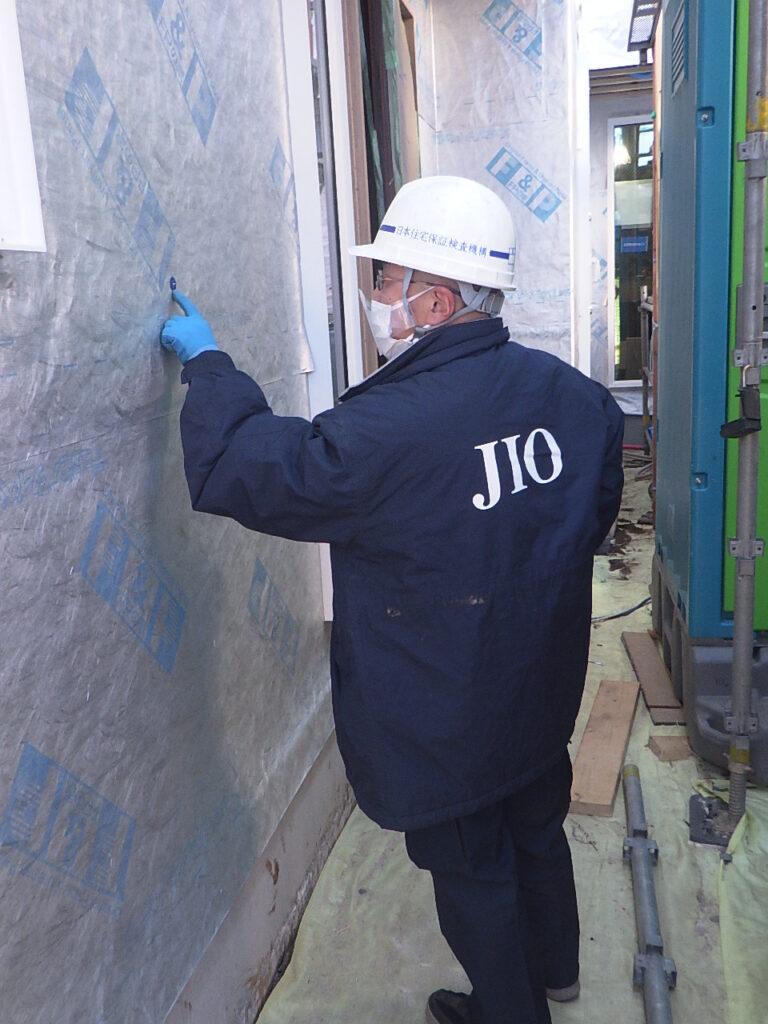 練馬区富士見台 N邸の追加外装下地検査
