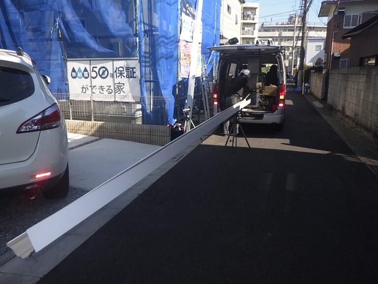 練馬区富士見台 N邸のシームレスガター