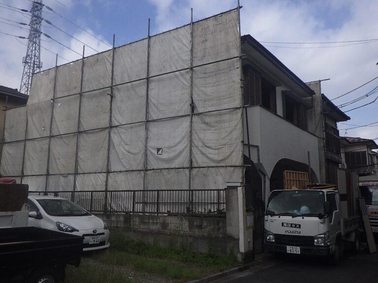 練馬区土支田 T邸の解体工事