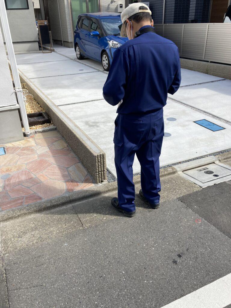 板橋区蓮根 I邸の完了検査、無事合格しました。